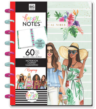 The Happy Planner x Rongrong Classic Happy Notes-Tropical Vibes