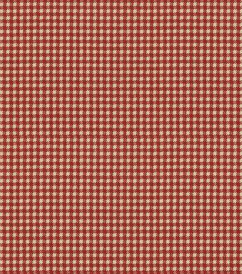 "Waverly Upholstery Fabric 54""-Country Fair Crimson"