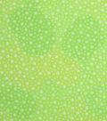 Keepsake Calico Cotton Fabric 43\u0022-Parrot Green Dot Blender
