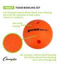 Champion Sports Foam Bowling Set