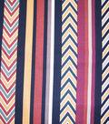 Home Essentials Lightweight Decor Fabric 45\u0022-Nevada Multi Stripe