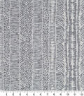 Robert Allen @ Home Print Swatch 55\u0022-Global Lines Greystone