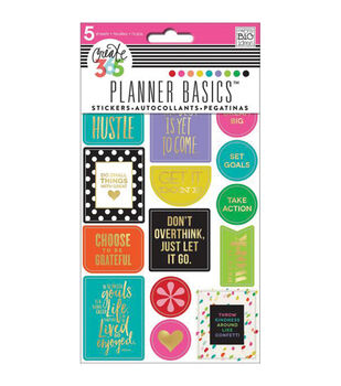 The Happy Planner Stickers 5/Sheets -Hustle, Bright