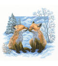 RTO Fox Cubs Counted Cross Stitch Kit