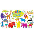 Scholastic Jingle Jungle Animals Bulletin Board Set, 2 Sets