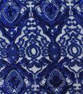 Heavy Tapestry Sequin Fabric 52\u0027\u0027-Dazzling Blue