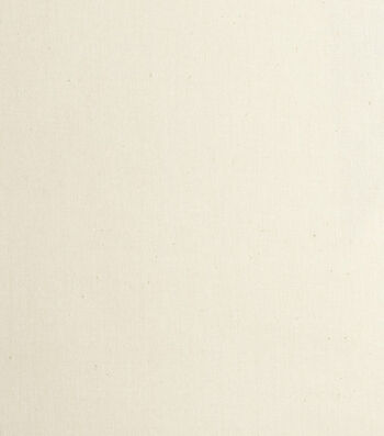 "Roc-Lon Lining Fabric 54""-Budget Blackout Flame Resistant White Ecru"