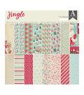 Authentique Double-Sided Cardstock Pad 12\u0022X12\u0022 24/Pkg-Jingle