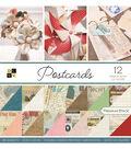 DCWV 12\u0027\u0027x12\u0027\u0027 36 Pack Premium Printed Cardstock Stack-Postcards