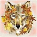 Collection D\u0027Art Diamond Embroidery/Printed/Gem Kit 38X38cm-Wolf