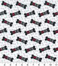 Novelty Cotton Fabric 43\u0027\u0027-I Love My Dog