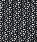 Knit Apparel Fabric 58\u0022-Black White Grey Geo