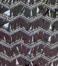 Casa Embellish Dahlia Fabric-Chevron Sequin Teardrop Fringe
