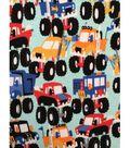 Doodles Juvenile Apparel Fabric 57\u0027\u0027-Monster Truck Madness Interlock