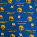 Golden State Fleece Fabric-Allover