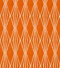 Home Decor 8\u0022x8\u0022 Fabric Swatch-Handcut Shapes / Orange Crush