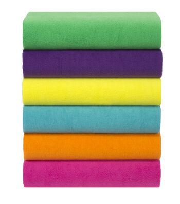 Anti Pill Fleece Fabric Solids-4 yard Pieces