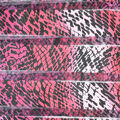 Fast Fashion Burnout Spandex Fabric-Azalea Snake