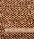 Cosplay By Yaya Han Metallic Textured Scales Fabric 51\u0022-Copper