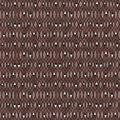 Premium Prints Cotton Fabric-Brown Diamonds
