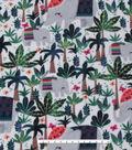 Anti-Pill Fleece Fabric 59\u0027\u0027-Trendy Elephants