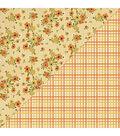 Pleasant Double-Sided Cardstock 12\u0022X12\u0022-#2 Autumn Florals