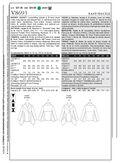 Mccall Pattern V8693 Bb (8-10-1-Vogue Pattern