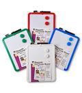 Charles Leonard Magnetic Dry Erase Board, Marker & Magnets, Pack of 6