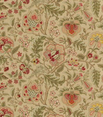 "Waverly Upholstery Fabric 54""-Imperial Dress Gold"