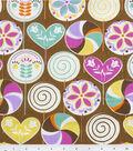 Home Essentials Lightweight Decor Fabric 45\u0022-Sugar Rush Chocolate