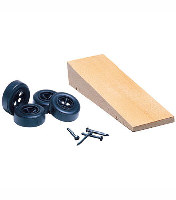 Pinewood Derby Car Kit-Wedge