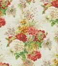Home Decor 8\u0022x8\u0022 Fabric Swatch-Waverly Ballad Bouquet/Radish
