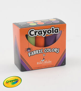 Crayola Fat Eighths Box-Halloween Colors by Riley Blake