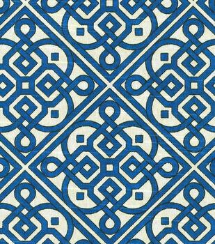 "Waverly Lightweight Decor Fabric 54""-Lace It Up/Navy"
