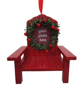 Maker's Holiday Christmas Beach Chair Frame Ornament