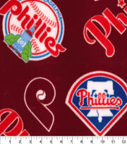 Philadelphia Phillies Fleece Fabric-Cooperstown, , hi-res