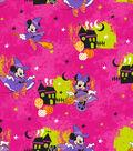 Disney Minnie Mouse Halloween Flannel Fabric-Fun
