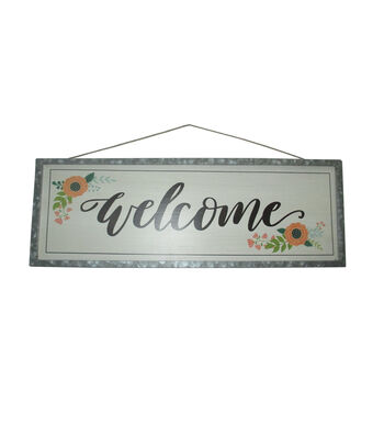 Hello Spring Large Wall Decor-Welcome