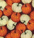 Harvest Cotton Fabric -Pumpkin Patch