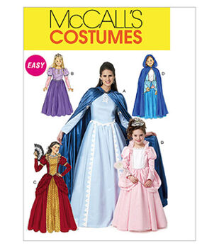 McCall's Pattern M6420-Misses'/Children's/Girls' Storybook Character Costumes