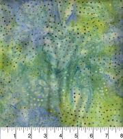 Legacy Studio Indonesian Batiks Cotton Fabric -Dotted Swirls Teal, , hi-res