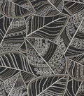 Richloom Studio Multi-Purpose Decor Fabric-Elvira Ebony