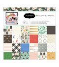 Pebbles Single-Sided Paper Pad 12\u0022X12\u0022-Along The Way, 24 Designs