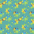 Disney Toy Story 4 Cotton Fabric-Duck and Bunny