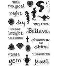 Hero Arts 24 pk 4\u0027\u0027x6\u0027\u0027 Clear Stamps-Magical Nights Messages