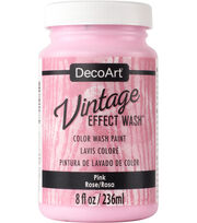 DecoArt 8oz. Vintage Effect Wash Paint, , hi-res