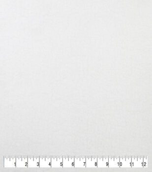 Luxury Faux Fur Sherpa Fabric -White