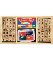 Melissa & Doug Alphabet Stamp Set, , hi-res
