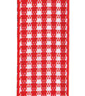 Offray 5/8\u0022x9\u0027 Microcheck Check/Plaid Woven Ribbon