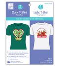 T-Shirt Iron-On Ink Jet Transfer Sheets 8.5\u0022X11\u0022 4/Pkg